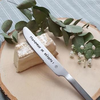 Couteau en inox - Trancheur...