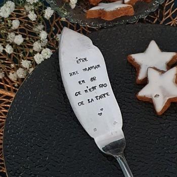 Pelle à tarte métal argenté...